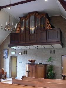 Orgel Christelijke Gereformeerde Kerk Lutten
