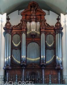 Ibach-orgel Gertrudiskerk Bergen op Zoom