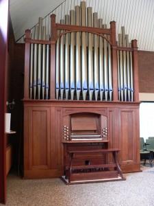 orgel gereformeerde kerk vrijgemaakt 'de opgang' lutten
