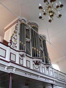 proper-orgel gereformeerde kruiskerk te lutten